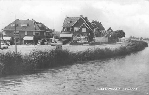 Nieuwemeerdijk 0048 1959 Zicht vanaf de Brug