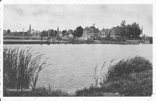 Nieuwemeerdijk 004_ Overzijde 1957 Zicht naar Sloten