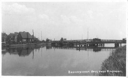 Nieuwemeerdijk 005_ 1939 Sloterbrug zicht naar Sloten