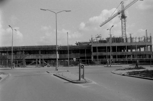 Nieuweweg O 0070 1979 Raadhuis in Aanbouw