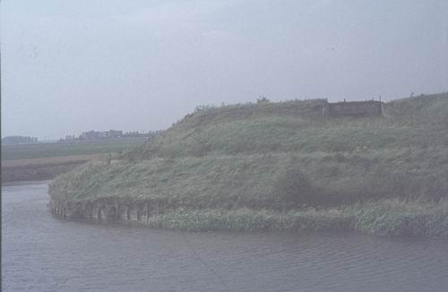 Rijnlanderweg W 099_ 1978-80 Geniedijk Zuid bij Batterij