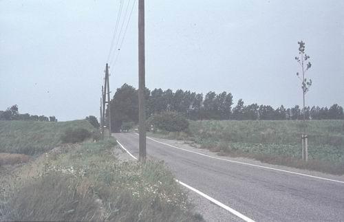 Rijnlanderweg O 090_ 19787-80 bij Geniedijk zicht naar Noorden