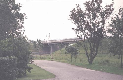 Rijnlanderweg O 1396 1978-80 Viaduct over Leimuiderweg