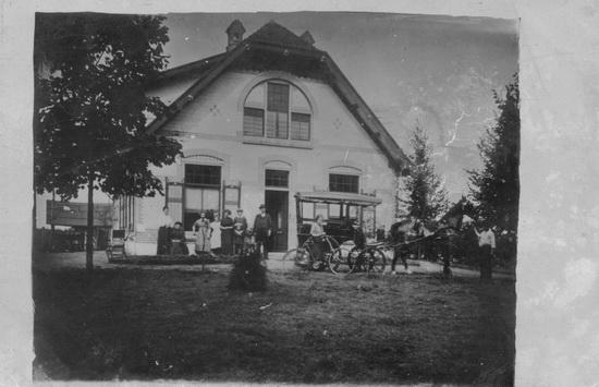 <b>ZOEKPLAATJE:</b>Onbekend Boerderij van Haazenkamp 1913 01