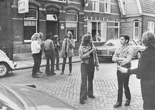 Aalsmeer Marktstraat 1975 Cafetaria Tromp