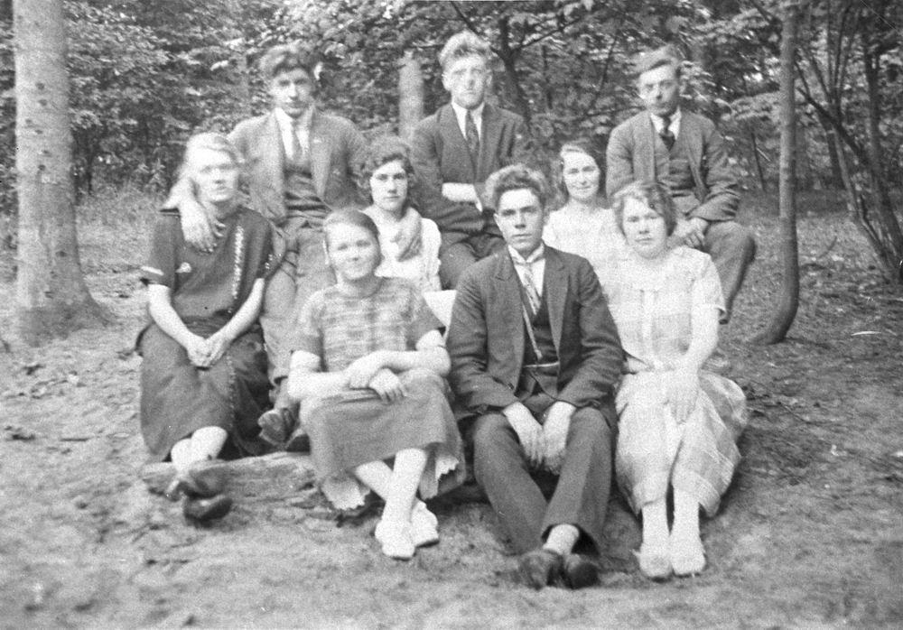 Onbekend Groep 1925 uit Kladdebuurt