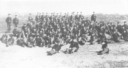 <b>ZOEKPLAATJE:</b>Onbekend Militairen Groep Soldaten