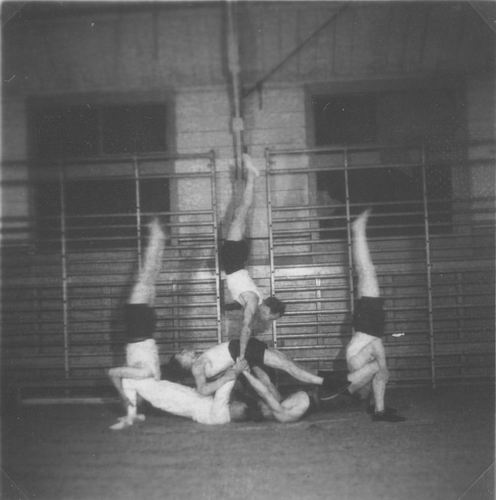 Gymnastiek Vereniging Vijfhuizen 19__ uit Fotoalbum Piet Klaassen 01
