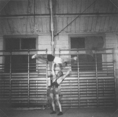 Gymnastiek Vereniging Vijfhuizen 19__ uit Fotoalbum Piet Klaassen 05