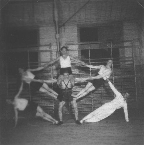 Gymnastiek Vereniging Vijfhuizen 19__ uit Fotoalbum Piet Klaassen 08