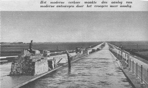 <b>ZOEKPLAATJE:</b>Rijksweg A4 1939 Onbekend Viaduct