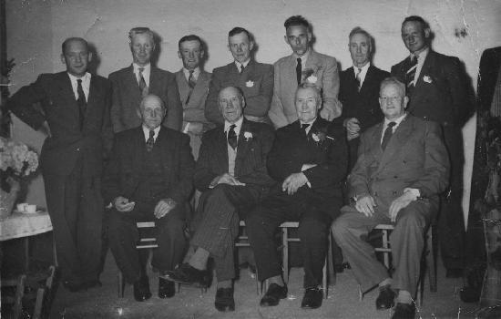 Ruighaver Hendrik 1953 Huwelijksjubileum met Jachtvrienden
