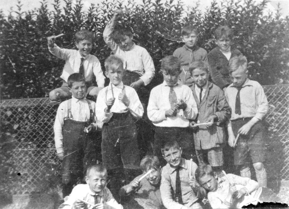 <b>ZOEKPLAATJE:</b>Onbekend Jongens Zwanenburg 1931