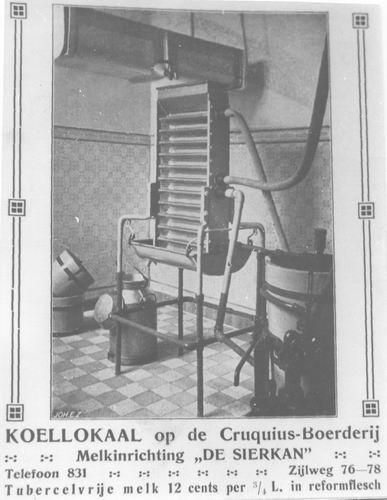 <b>ZOEKPLAATJE:</b>&nbsp;Cruquiusdijk 0054 Cruquiushoeve Koellokaal