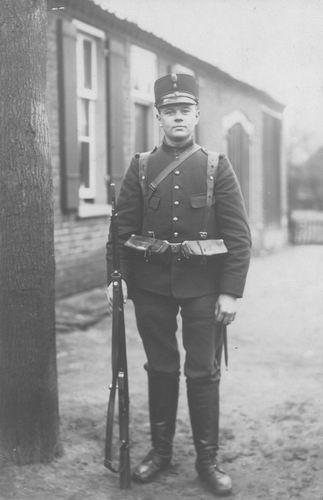 Vreeken Meindert 1890 1914 Soldaat tijdens Mobilisatie