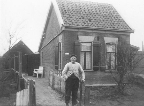IJweg W 1553 19__ Daggeldershuisje Piet Witte