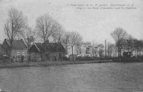 Aalsmeerderdijk 0082 1907 Pont naar de OosteinderPoel Polder