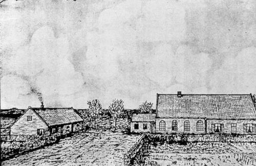 Aalsmeerderweg W 0459 1927- Oude Geref Kerk Pentekening
