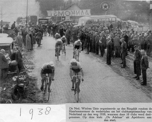 <b>ZOEKPLAATJE:</b>&nbsp;Onbekend Ringdijk 1938 Wielerwedstrijd