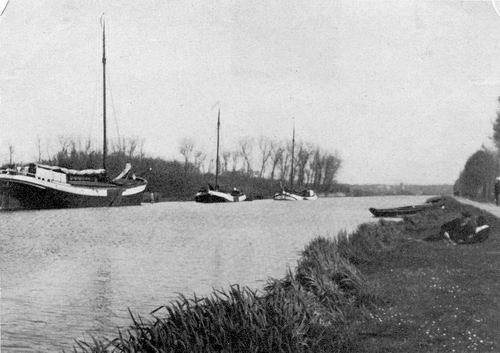 <b>ZOEKPLAATJE:</b>Onbekend Ringvaart 1917 bij Bennebroek