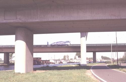 Zwanenburgerdijk 010_ 1978-79 Viaducten Rijksweg A9 02