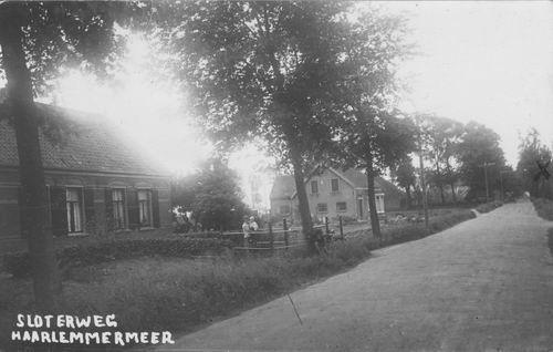 Sloterweg O 0338-340 1931 Huizen de Vlieger en Hage