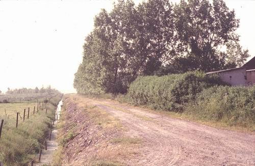 Sloterweg W 0301+ 1978-79 Pad naast de Voorpost