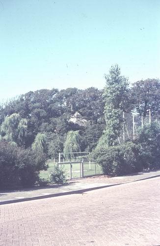 Bennebroek 1978-79  Voetbalveld bij  NH Kerk