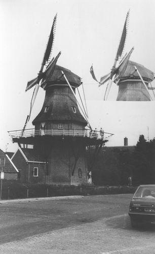 Noordwolde 1985+ Korenmolen Windlust