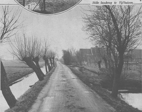 Vijfhuizerdijk 004_ Overzijde 1931 Zwarteweg vanaf Schalkwijk