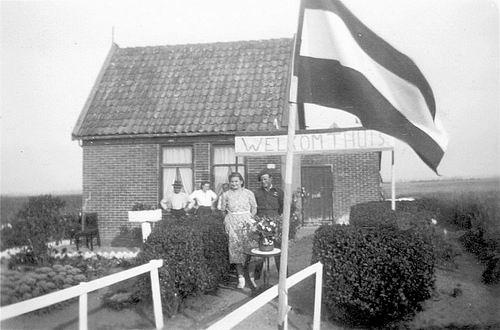 IJweg O 0520 1949 Huize fam de Koter