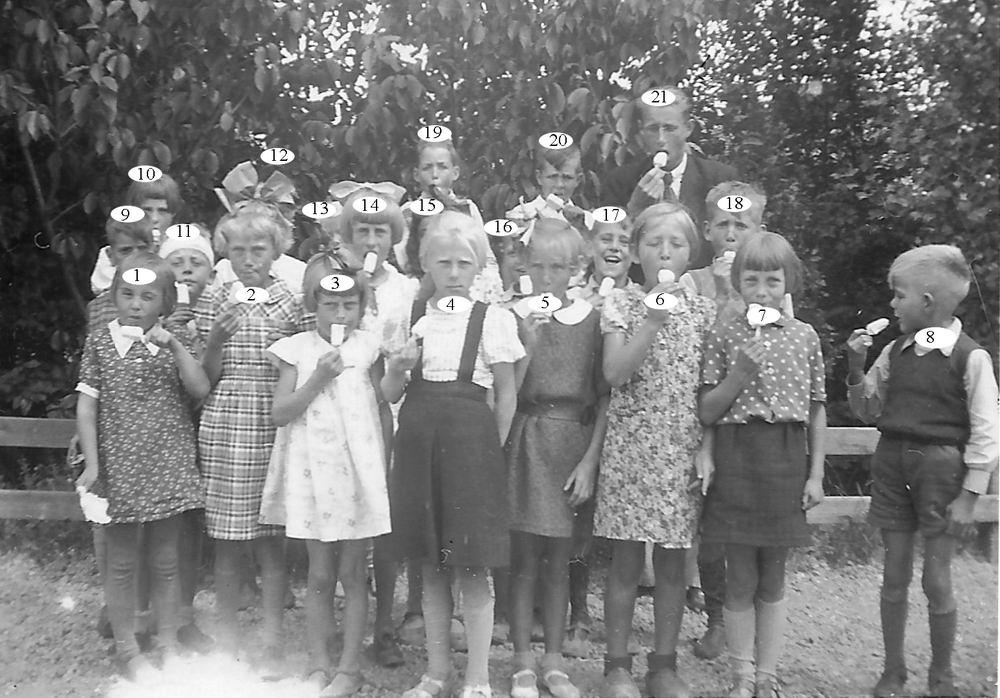 Openbare School 01 1940 Klas 2_Index