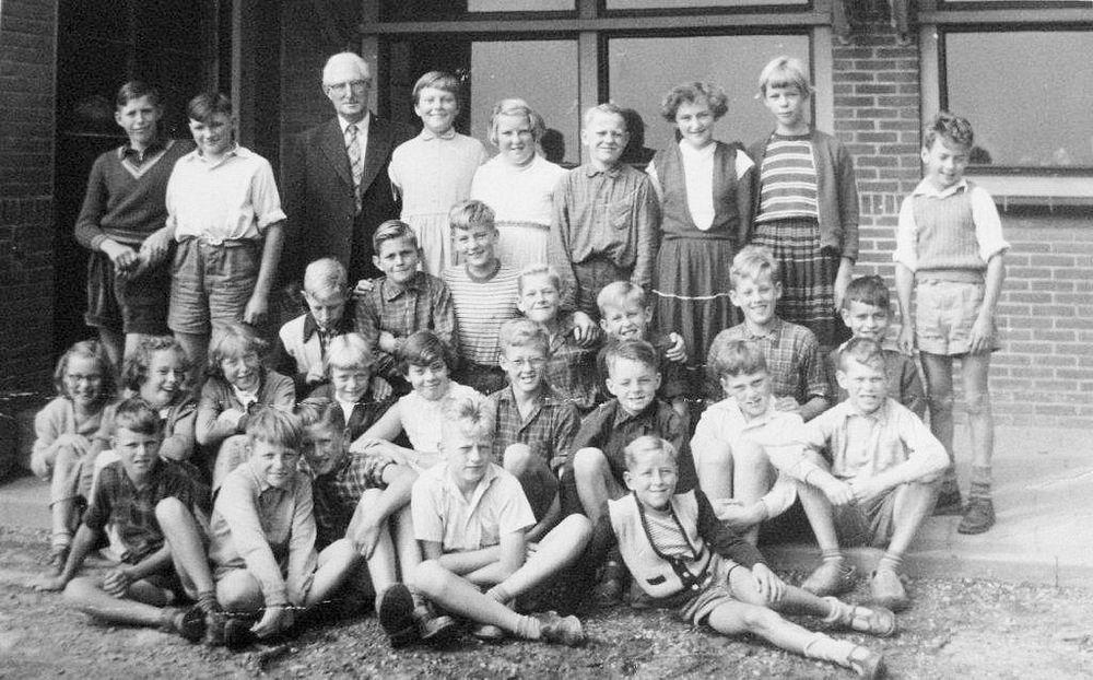 Openbare School 01 1954-55 klas 5