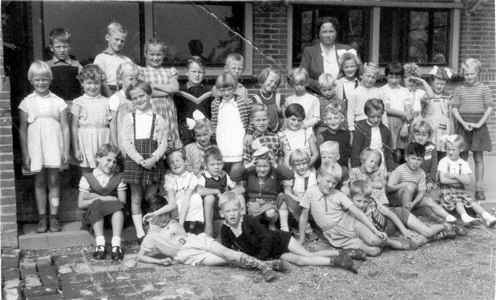 Openbare School 01 1954 klas 1