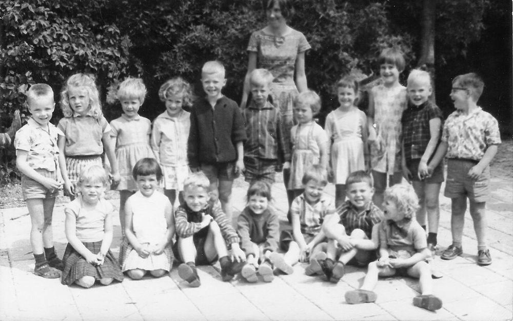 Openbare School 01 1965 Kleuterklas Juf Bouwen