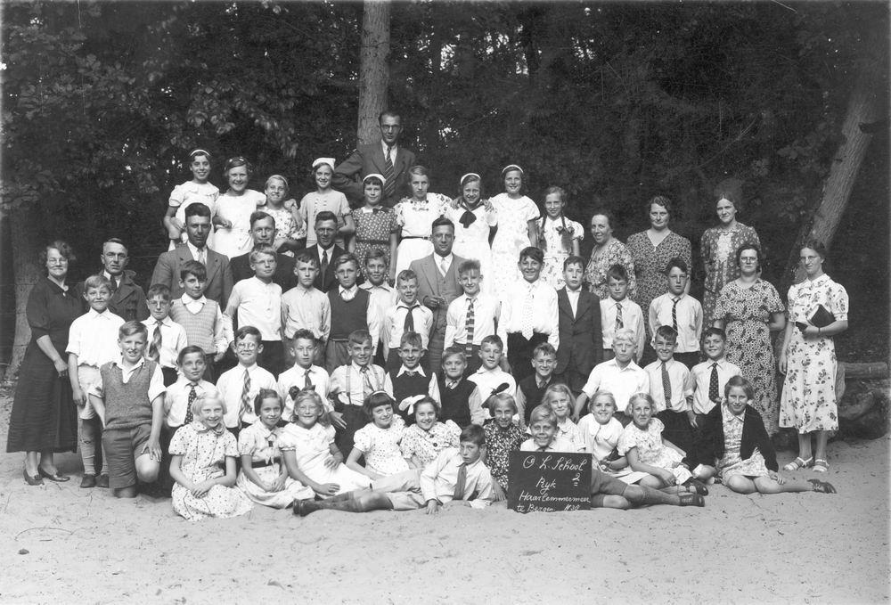 Openbare School 02 1938 Schoolreisje naar Bergen