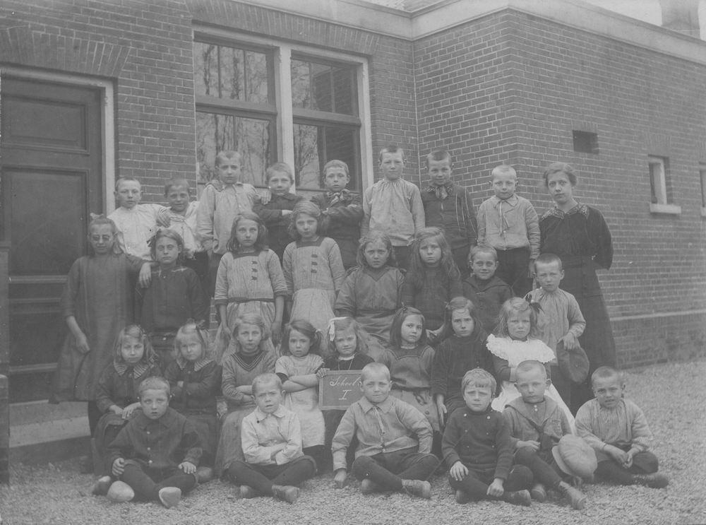 Openbare School 03 1915 Groep 2 met A Smit