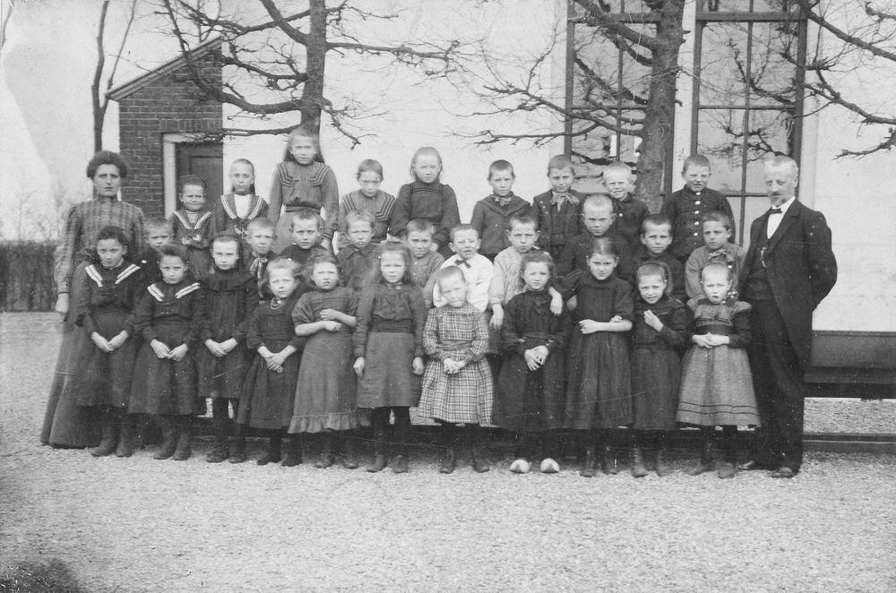 <b>ZOEKPLAATJE:</b>Openbare School 08 1908- Zwaanshoek Klas Onbekend 01