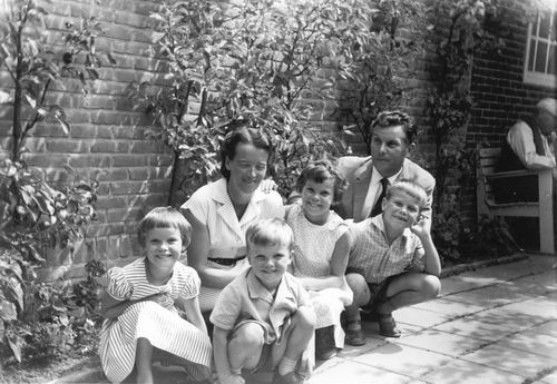 Oskam Arie 1922 1960 Gezinsfoto