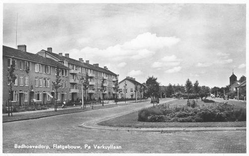 Pa Verkuyllaan 1953 Flatgebouw