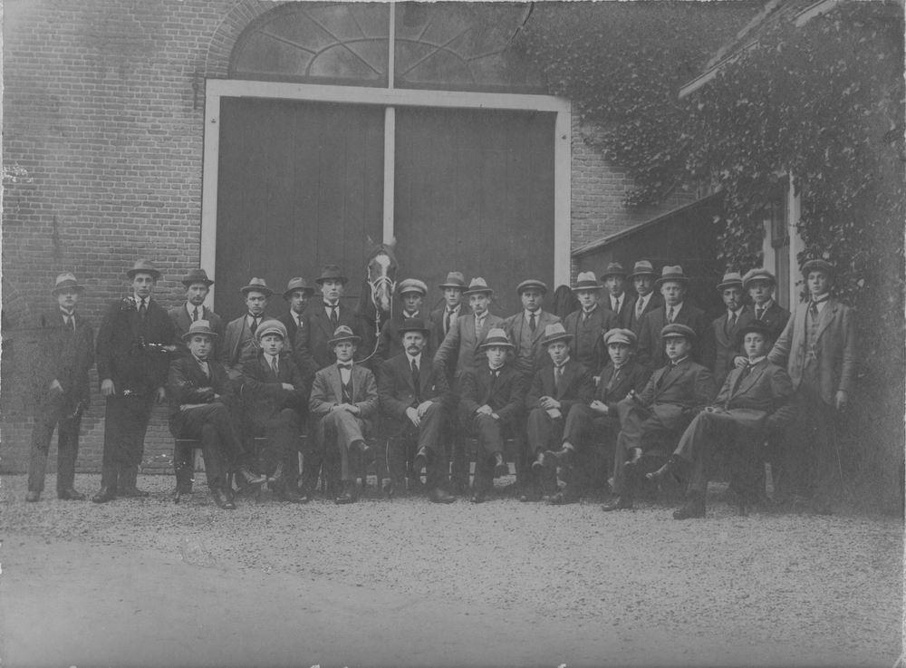 Paardenkennis Cursus 1919-20 met Dr Zuijdam