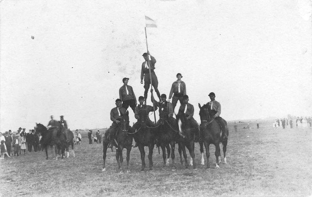 Paardenvereniging Venneper Ruiters 19__ 03 Circusnummer