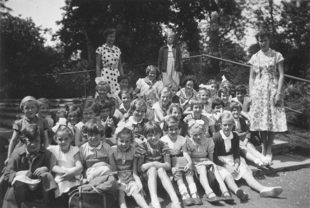 Padvinders Rijk 1955 Zaterdagmiddaggroep Kabouters Rijk