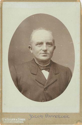 Pannekoek Jacob 1852 19__ Portret met vrouw Trijntje Eveleens 01