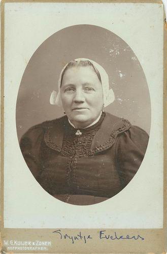 Pannekoek Jacob 1852 19__ Portret met vrouw Trijntje Eveleens 02