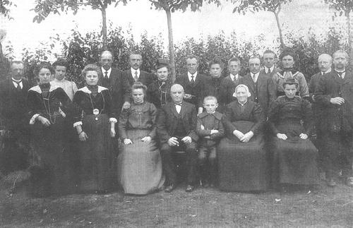 Pannekoek Jacobus 1852 19__ Familiefoto