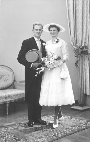 Parlevliet Jaap 1959 trouwt Anneke Bulk