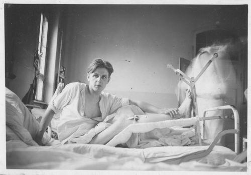 <b>ZOEKPLAATJE:</b>Pelt Fam v 19__ Onbekend Nelis in Duits Ziekenhuis