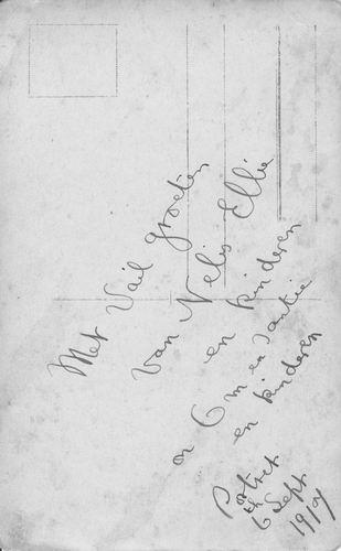 <b>ZOEKPLAATJE:</b>Pelt Fam v 19__ Onbekend USA Gezinsfoto 1917 047a