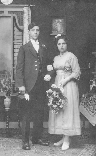 Philippo Johannes 19__ trouwt Wilhelmina Smit